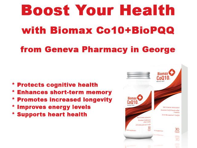 Boost Your Health with BioPQQ from Geneva Pharmacy in George
