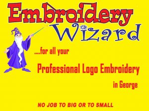 Professional Logo Embroidery in George