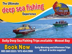 March Holiday Deep Sea Fishing in Mossel Bay