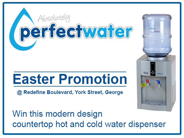 Win a Water Dispenser with Absolutely Perfect Water in George