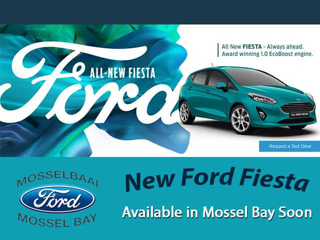 New Ford Fiesta Available in Mossel Bay