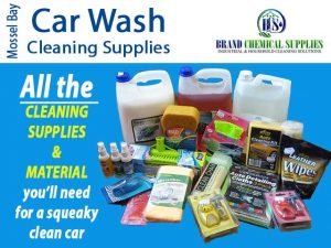 Mossel Bay Car Wash Cleaning Supplies and Materials