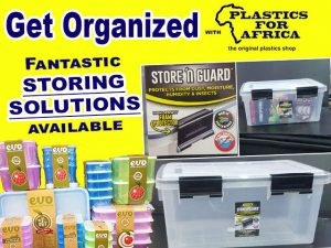 Fantastic Storing Solutions from Plastics for Africa
