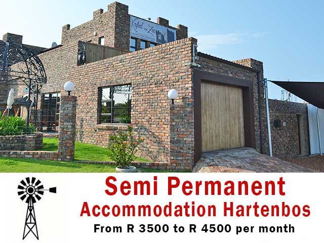 Semi Permanent Accommodation in Hartenbos