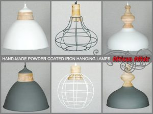 Hand-Made Iron Hanging Lamps