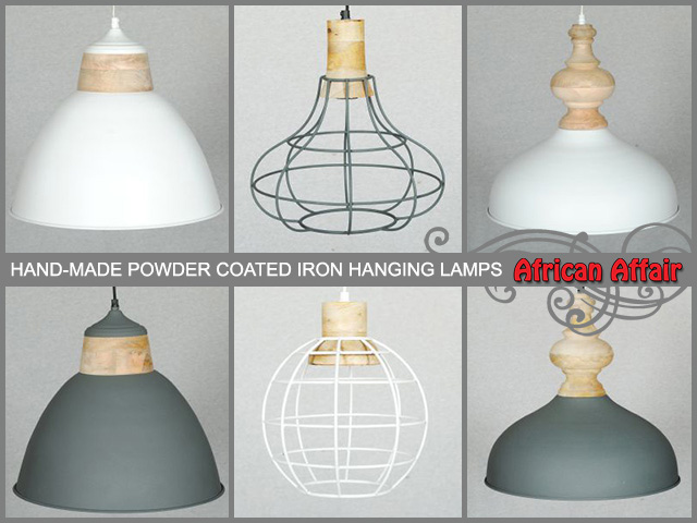 Hand Made Iron Hanging Lamps