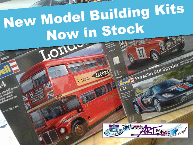 New Model Building Kits in Stock