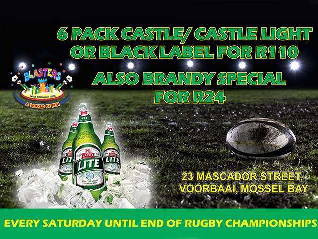 Beer and Brandy Special in Mossel Bay