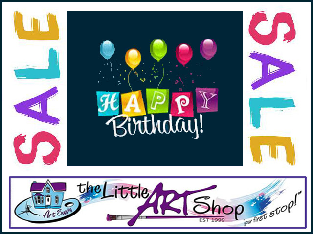Art Shop Birthday Sale On In George