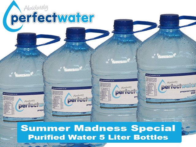 Special on Purified Bottled Water in George