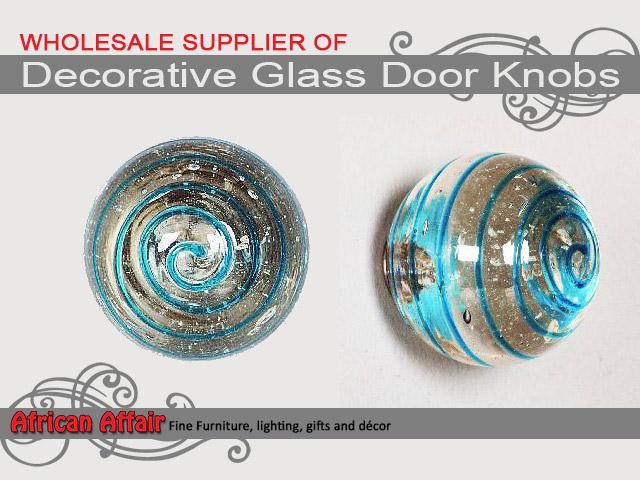 Decorative Glass Door Knobs