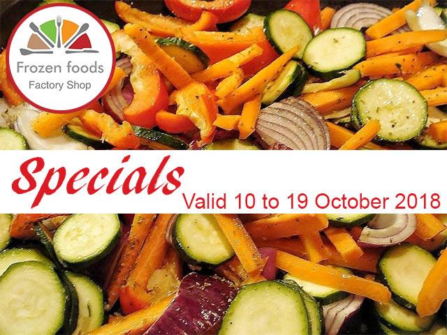 Frozen Foods October 2018 Mid Month Specials