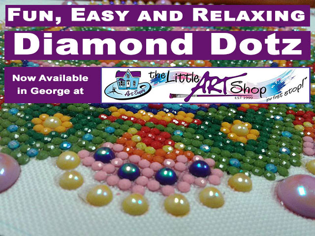 Diamond Dotz Now At The Little Art Shop in George