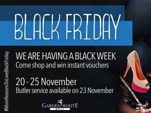 Garden Route Mall Black Friday