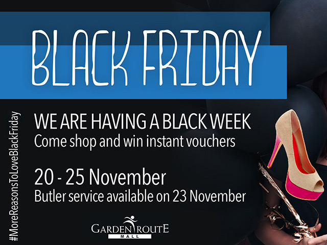 Garden Route Mall Black Friday