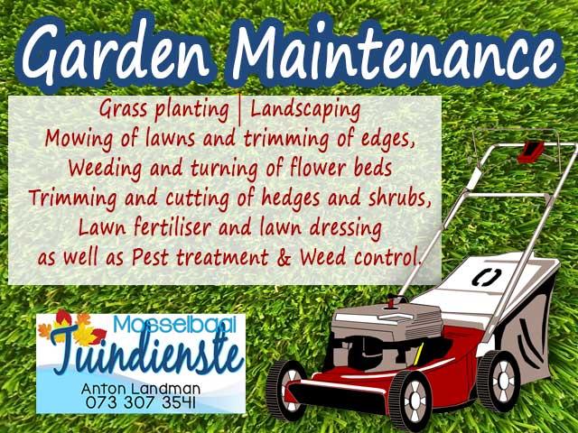 Mossel Bay Garden Maintenance