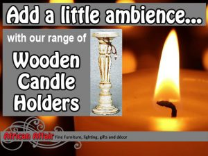 Supplier of Wooden Candle Holders