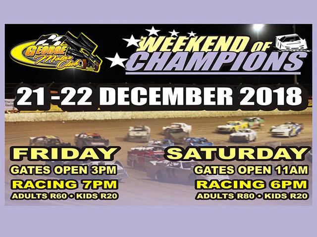 George Motor Club December Racing