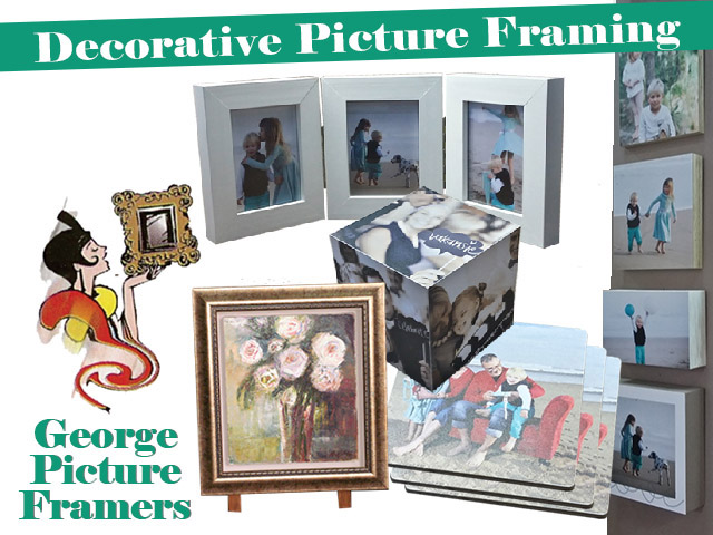 Decorative Picture Framing in George