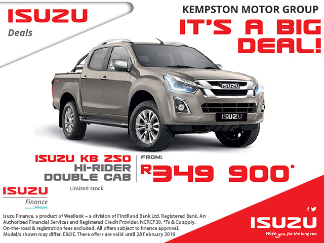 Isuzu Deals in George
