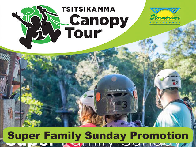 Tsitsikamma Canopy Tour Family Special