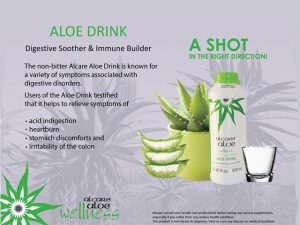 Aloe Drink from Alcare Aloe Albertinia