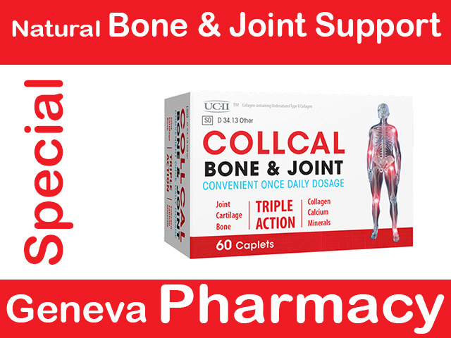 Collcal Geneva Pharmacy Special