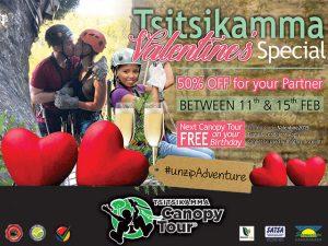 Tsitsikamma Canopy Tour Valentine's Special