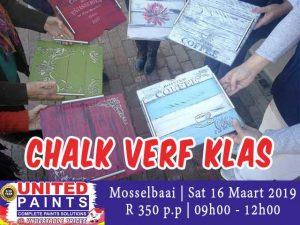 Chalk Verf Klasse by United Paints Mosselbaai