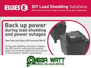 DIY Load Shedding Solutions Mossel Bay