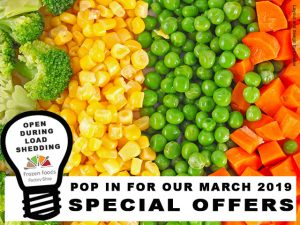Frozen Foods March 2019 Special Offers
