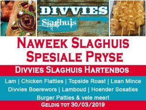 Divvies Slaghuis Vleis Promosies Hartenbos
