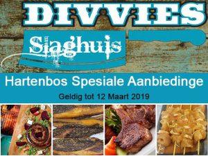 Divvies Slaghuis Promosie op Vleis