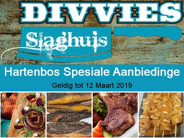 Slaghuis Spesiale Aanbiedinge 12 Maart 2019 Hartenbos