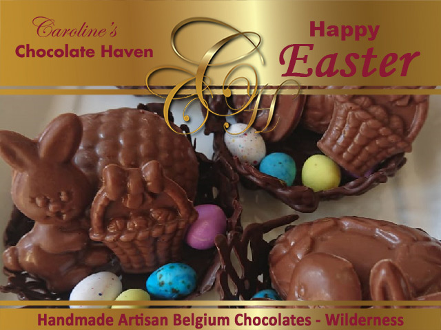 Artisan Chocolates for Easter in Wilderness