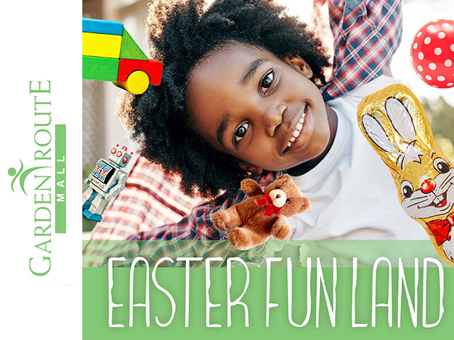 Easter Fun Land at the Garden Route Mall