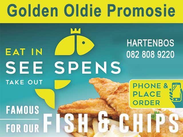 Golden Oldie Vis Promosie Hartenbos