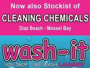 Cleaning Chemicals at Diaz Beach Mossel Bay