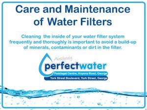 Water Filter Maintenance by Perfect Water in George