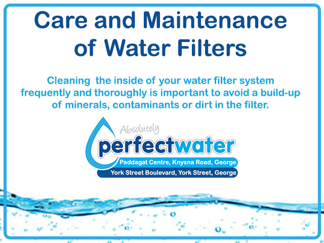 Cleaning Filters Perfect Water