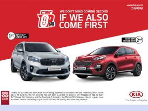 KIA Awarded First and Second Places in Best Buys 2019