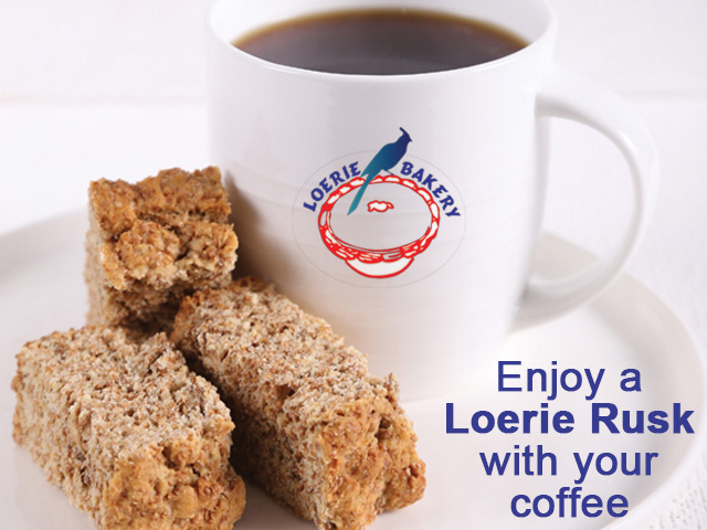 Delicious Rusks from Loerie Bakery in George
