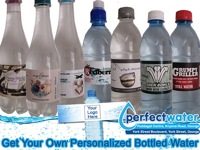 Perfect Water Personalized Water Bottles