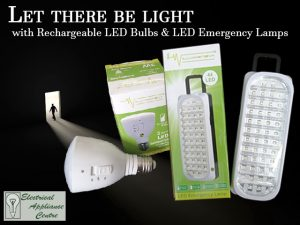 Electrical Appliance Centre Rechargeable bulbs
