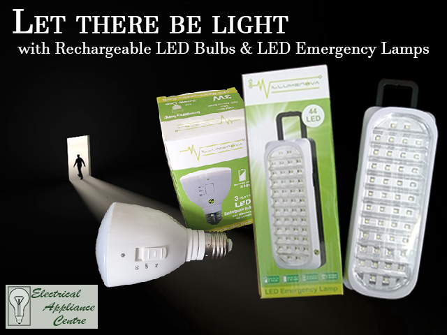 Rechargeable LED Bulbs in George