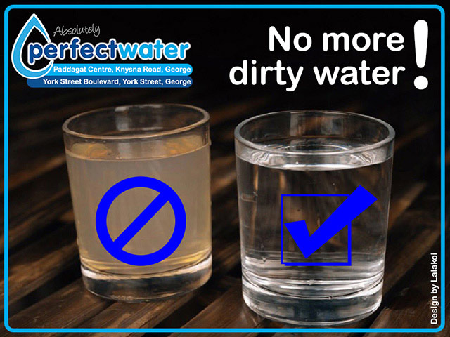 No More Drinking Dirty Water Perfect Water George