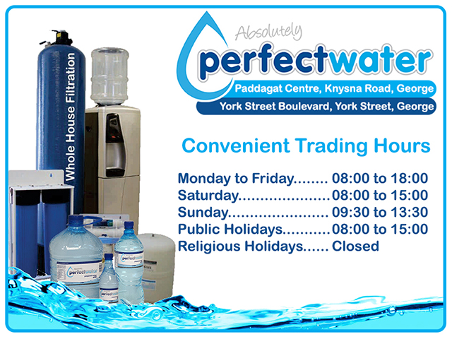 Perfect Water Trading Hours