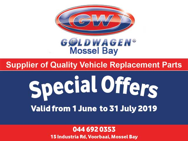 Vehicle Replacement Parts Special Mossel Bay