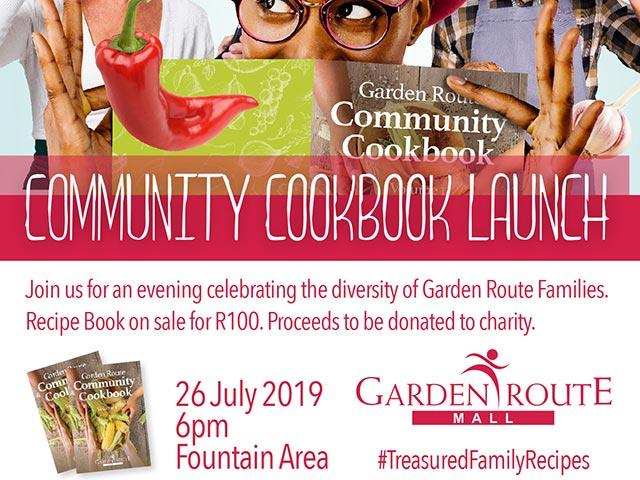 Garden Route Mall Cook Book Launch