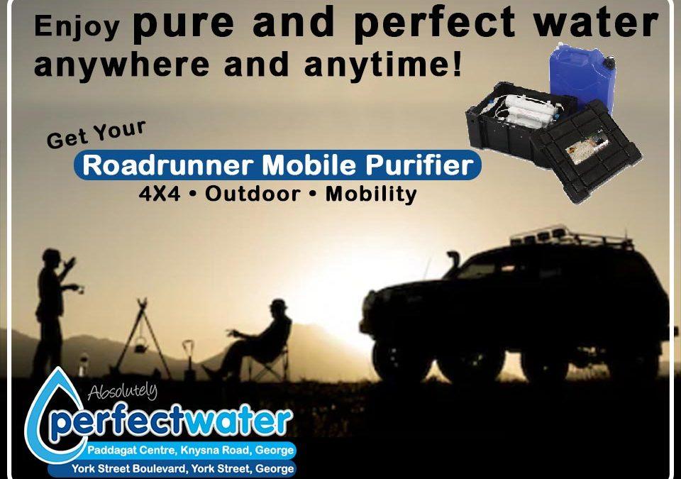 Roadrunner Mobile Water Purifier in George